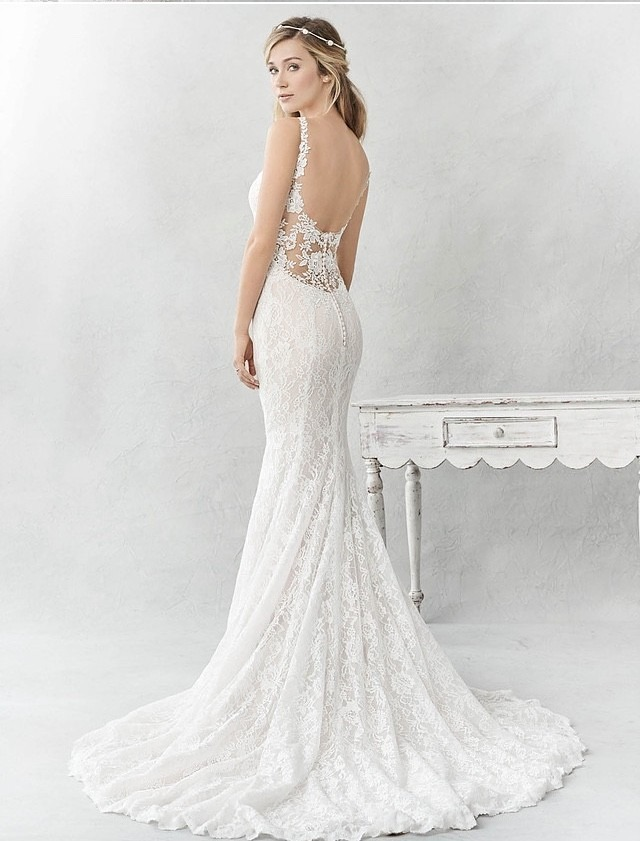 Mermaid Wedding Dress For Sale White Gown