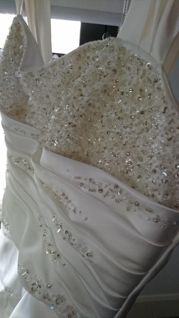 Alfred Angelo Wedding Dress Size 18 For Sale At White Gown,Outdoor Wedding Simple Wedding Dresses With Sleeves