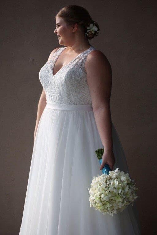 Bonny 424 Wedding Dress Used Size 20 850 Used Wedding