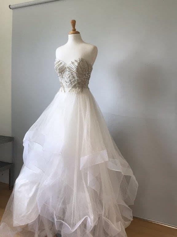 John Memphis Bridal Dresses On Clearance Sale White Gown