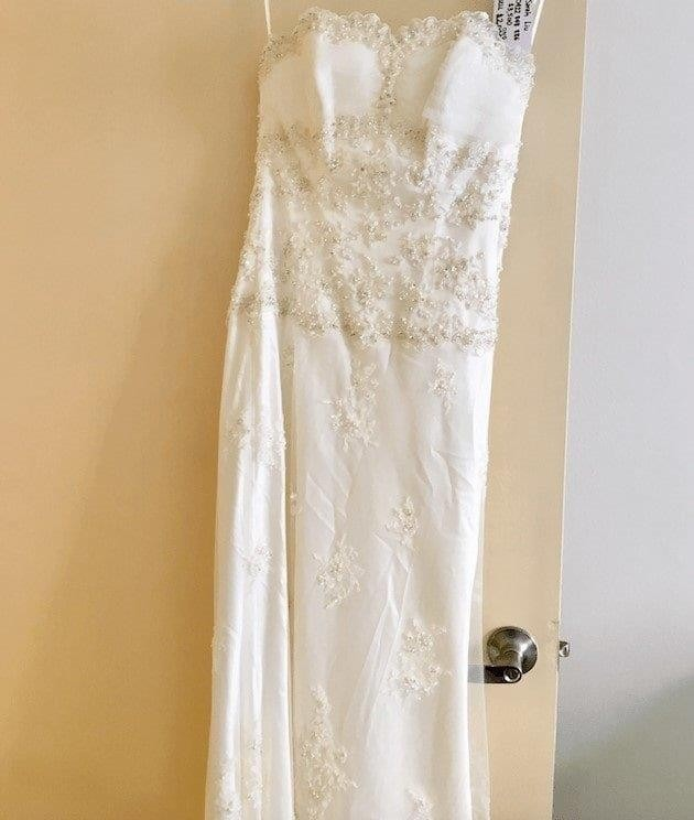 James Clifford Wedding Dress Size 8 For Sale At White Gown
