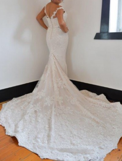 Norma and Lili Bridal Couture For Sale At White Gown
