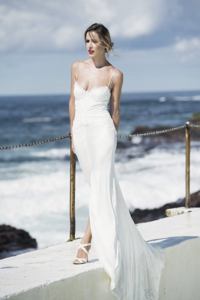 Milanja Wedding Dress For Sale | White Gown