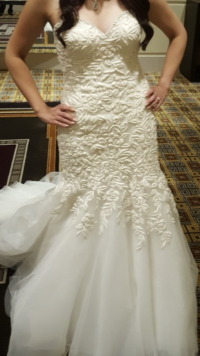 Maddison James Wedding Dress For Sale | White Gown