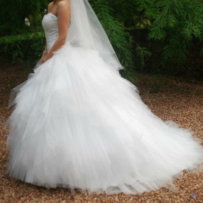 Mia Solano Wedding Dress For Sale | White Gown
