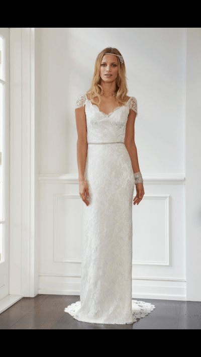 Lisa Gowing Wedding Dress For Sale | White Gown