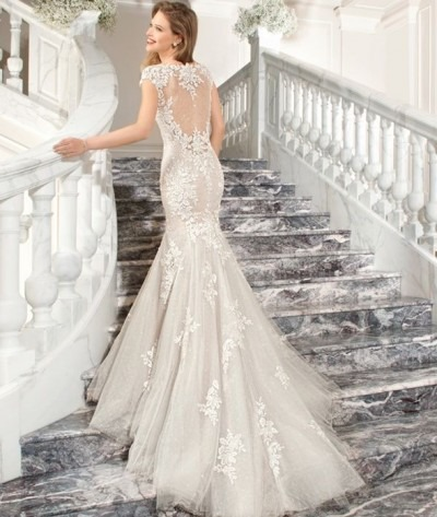 Stunning Demetrios Wedding Dress For Sale | White Gown