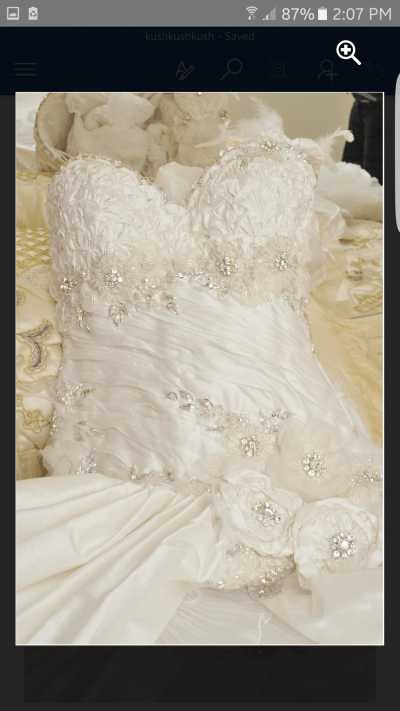 Stunning Arushie Bridal Wedding Dress for Sale | White Gown