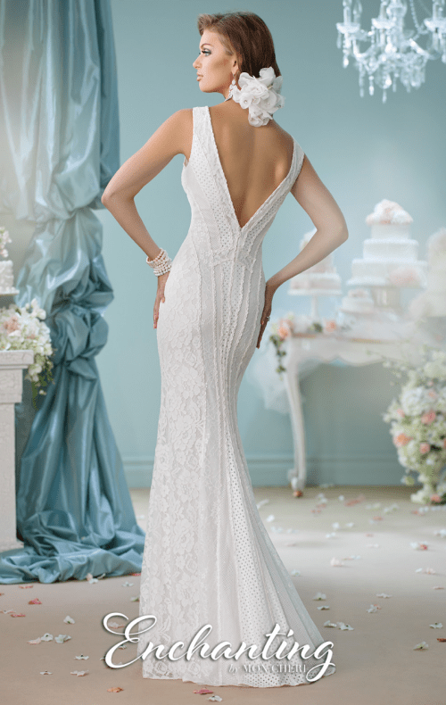 97340716202c Mon Cheri Bridal Wedding Dress For Sale. Click to zoom