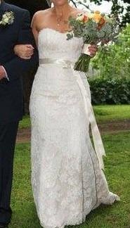 Wendy Makin Wedding Dress For Sale   White Gown