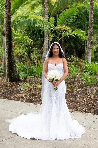 Steven Khalil Wedding Dress For Sale   White Gown