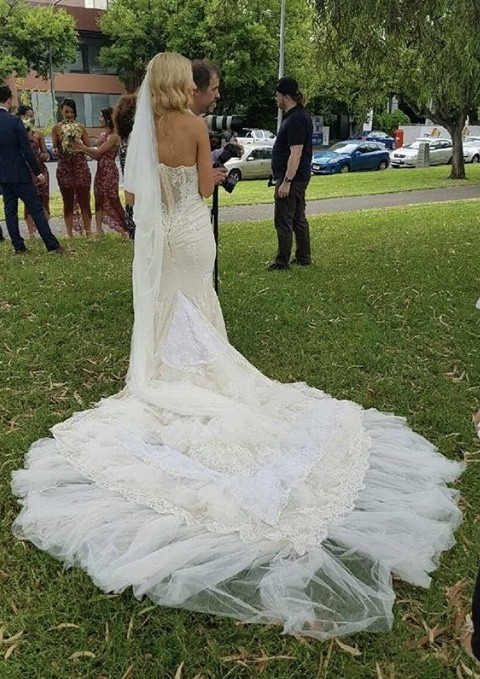 Inbal Dror Wedding Dress For Sale   White Gown