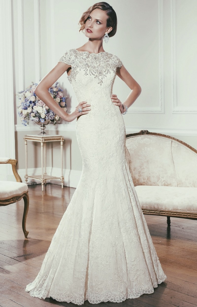 Ronald Joyce Wedding Dress For Sale | White Gown