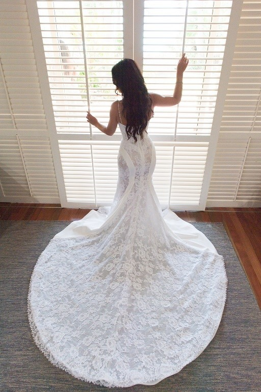 Steven Khalil Wedding Dress For Sale | White Gown