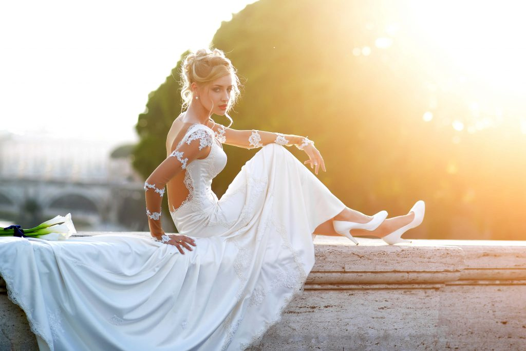 What to Do with That Wedding Dress Now That the Wedding's Over